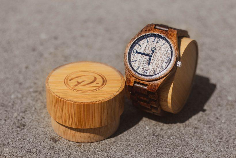 Drevené hodinky Tapio